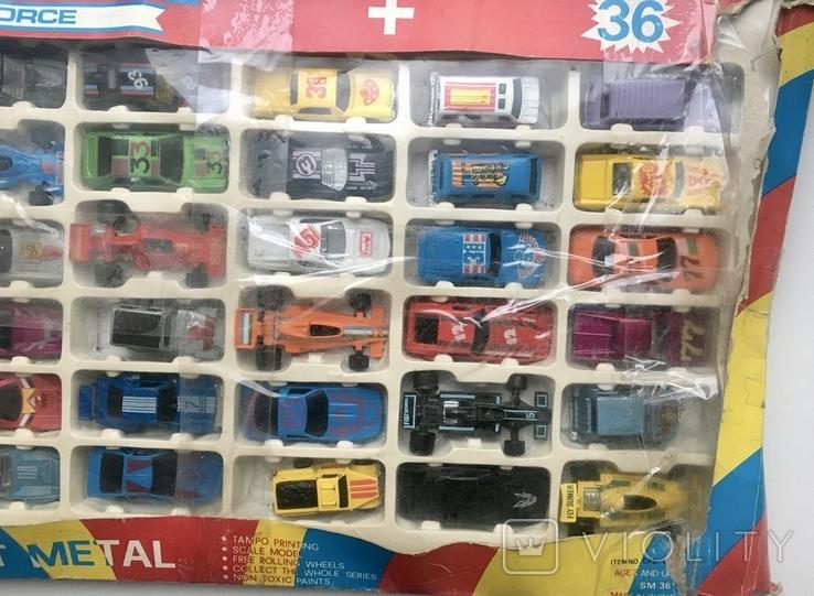 Набор машинок из 90-х (комплект, 36 штук), фото №4