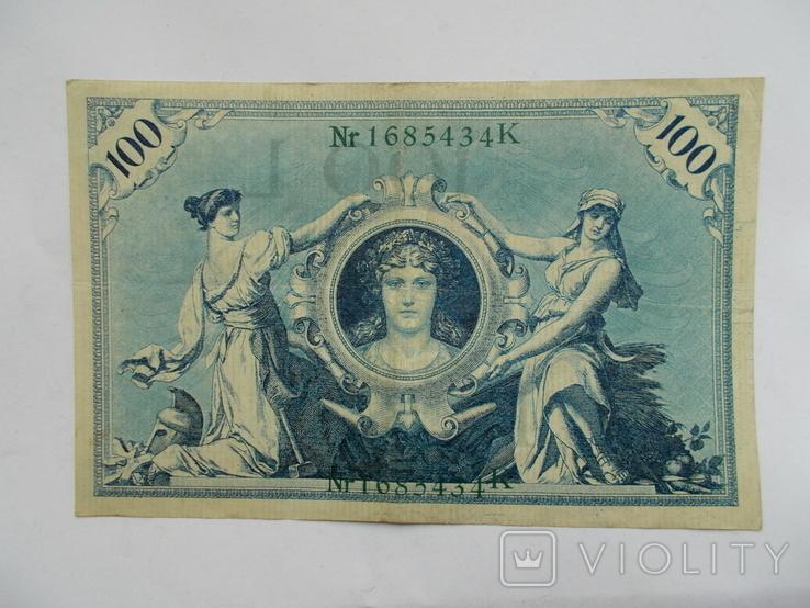 100 марок 1908 г., фото №2