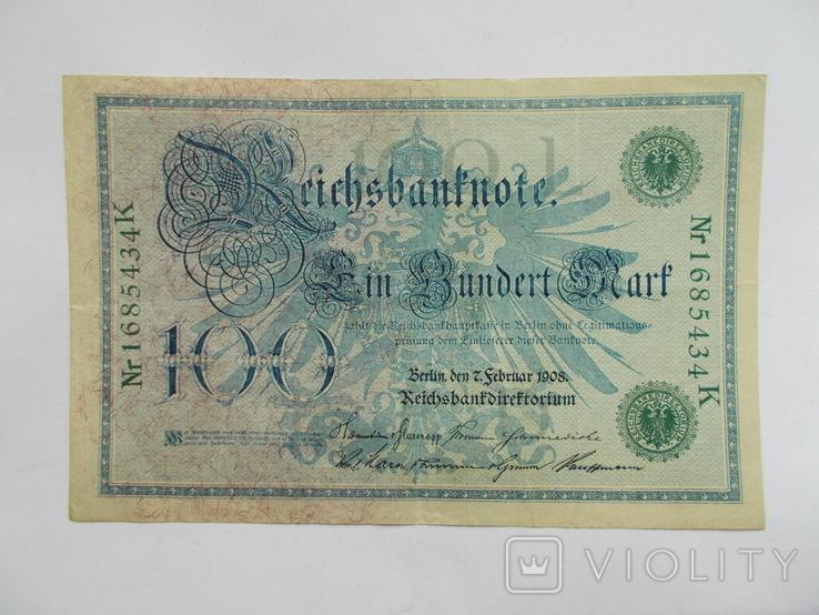 100 марок 1908 г., фото №3