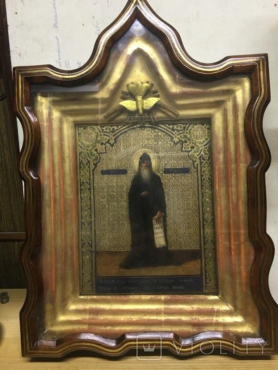 Икона Св. преп. Памва, фото №2