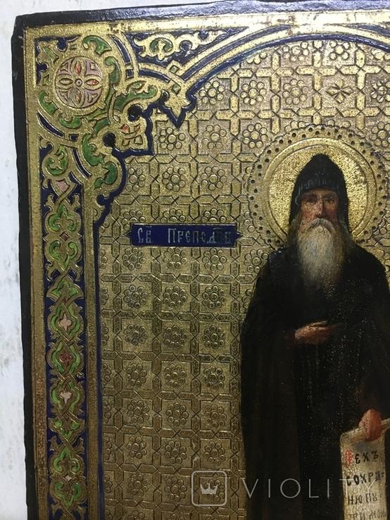 Икона Св. преп. Памва, фото №10