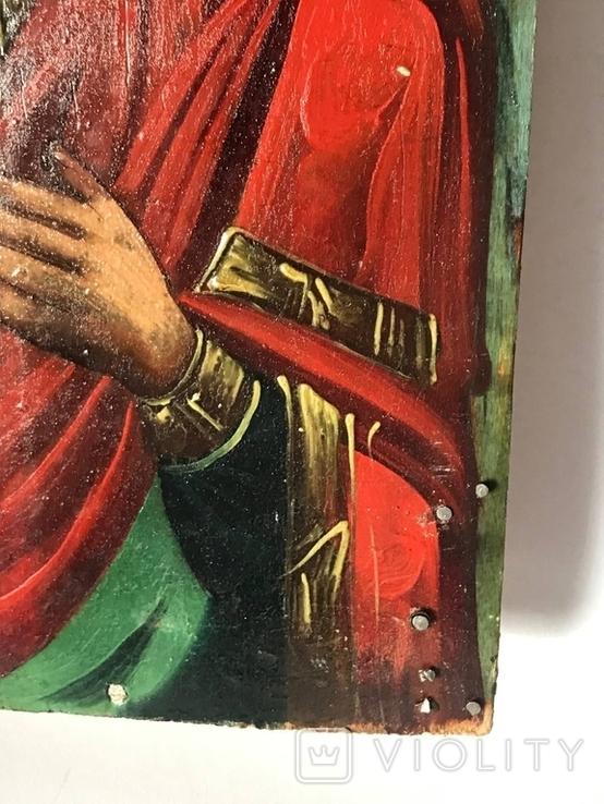 Икона Владимирской Божьей матери, фото №7