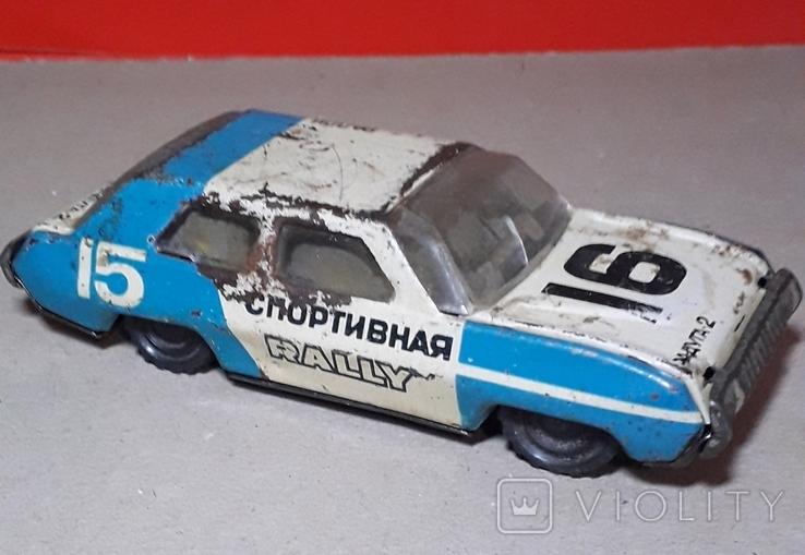 Инерционная Машинка РАДУГА - 2 РАЛЛИ из СССР, фото №2