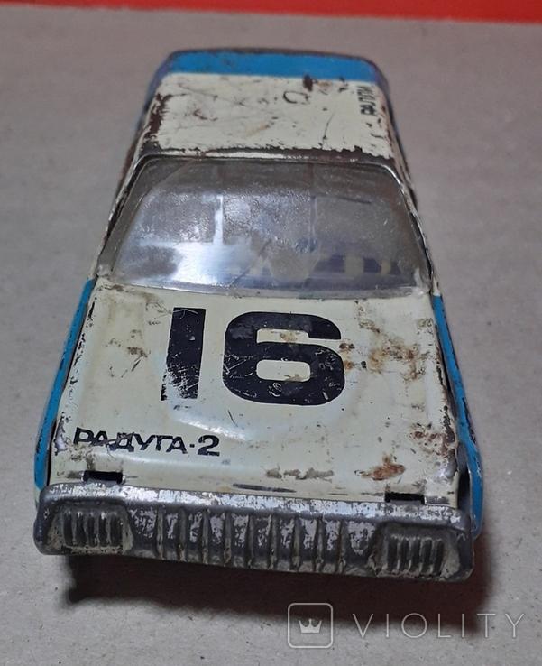 Инерционная Машинка РАДУГА - 2 РАЛЛИ из СССР, фото №4