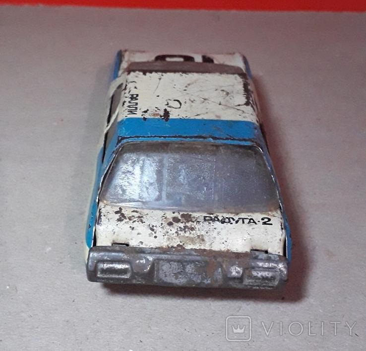 Инерционная Машинка РАДУГА - 2 РАЛЛИ из СССР, фото №8