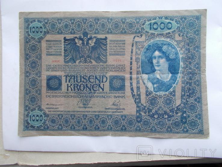 1000 крон 1902 г., фото №3