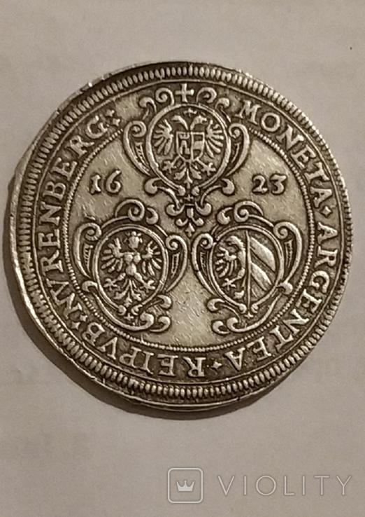 Талер 1623 города Нюренберг