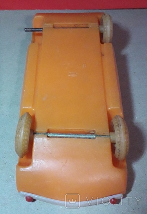 Машинка Дутыш из СССР длина 21 см., фото №6