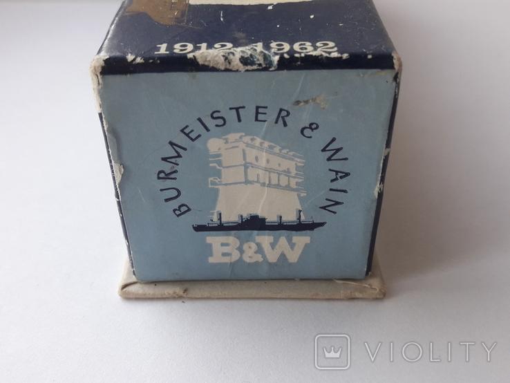 Модель теплохода m/s SELANDIA клеймо B&W Burmeister& Wain, фото №4