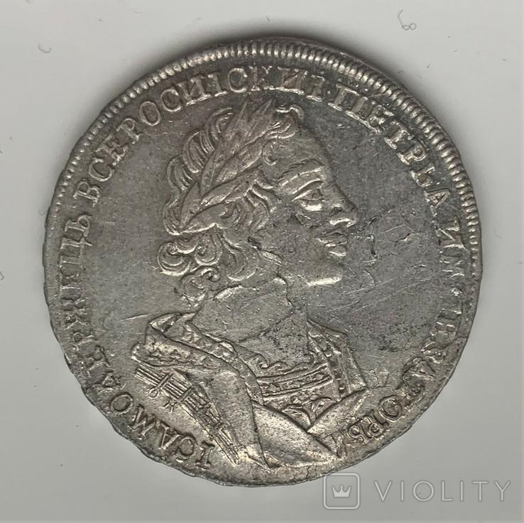 Рубль 1724 года OK