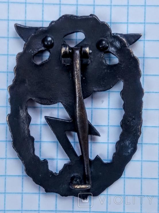 Знак За наземный бой Люфтваффе. Копия., фото №3