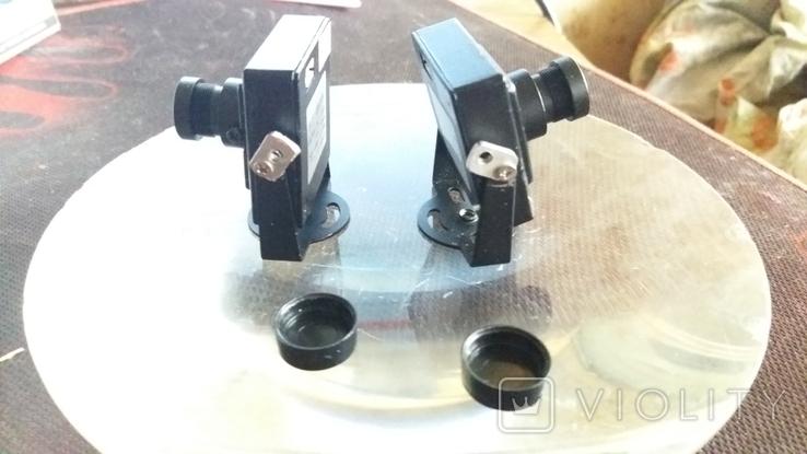 """Камера (2 шт.) видеонаблюдения для помещения 1/3"""" SONY CCD 420TVL Mini Security CCTV, фото №6"""