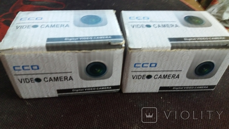 """Камера (2 шт.) видеонаблюдения для помещения 1/3"""" SONY CCD 420TVL Mini Security CCTV, фото №8"""