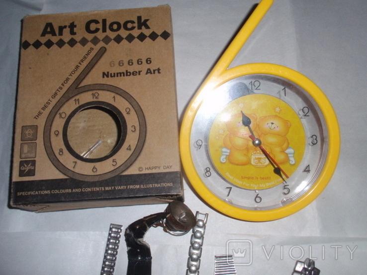 Часы разные на запчасти, фото №3
