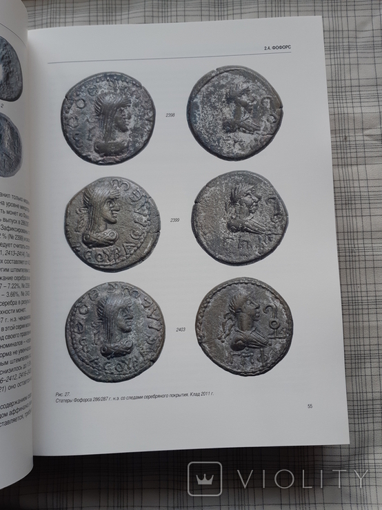 Клад позднебоспорских статеров из Фанагории. Фанагория. Том 5 (2), фото №8