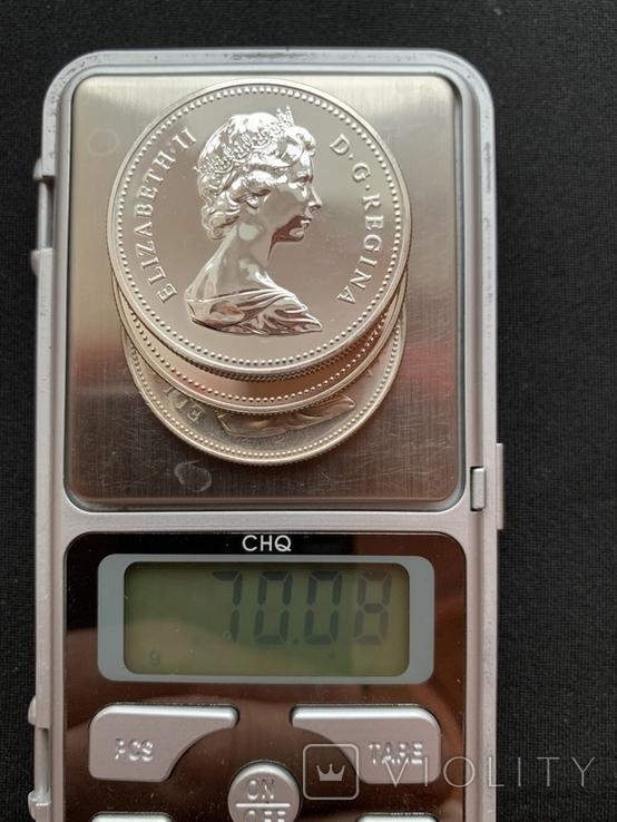 Канадский доллар (3шт.), фото №9