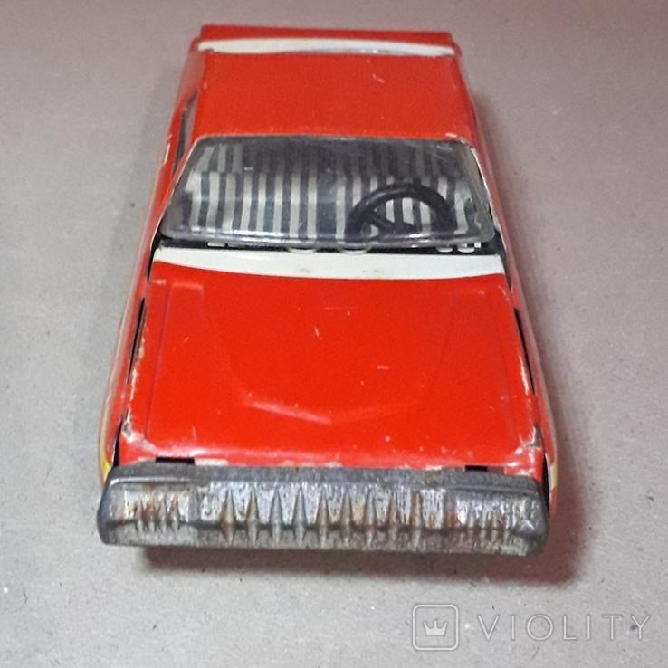 Инерционная гоночная машинка РАДУГА-РАЛЛИ из СССР, фото №4