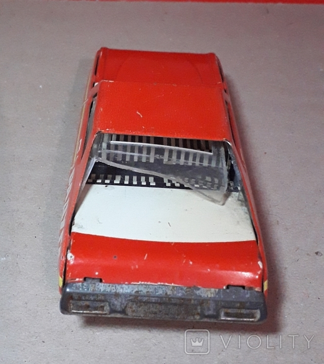 Инерционная гоночная машинка РАДУГА-РАЛЛИ из СССР, фото №7