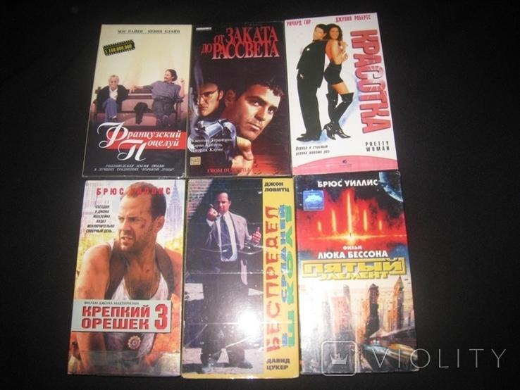 Видео касеты 6 штук + бонус три диска, фото №2