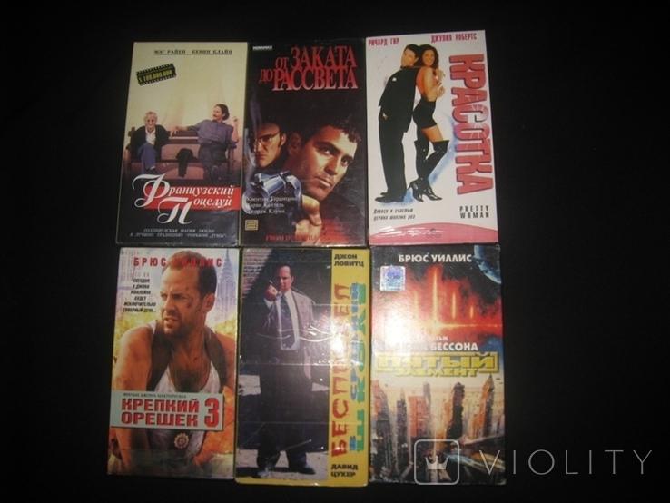 Видео касеты 6 штук + бонус три диска, фото №3