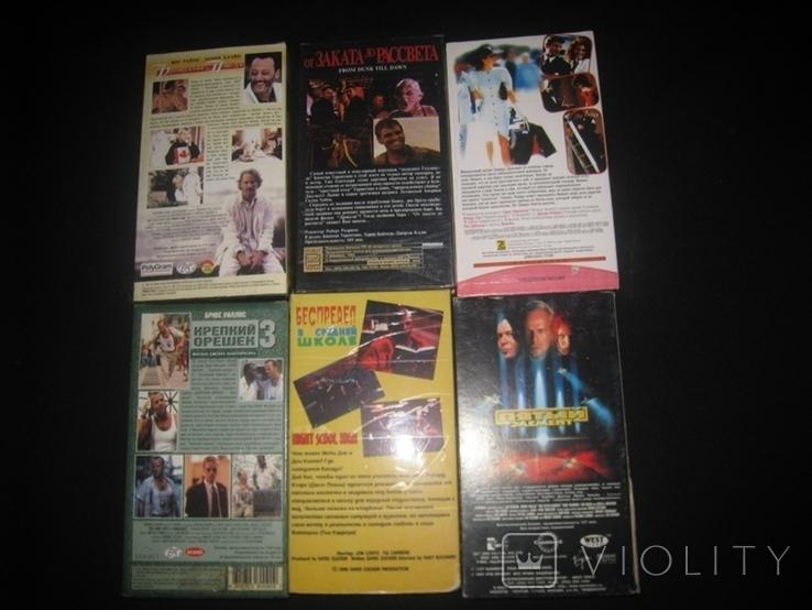 Видео касеты 6 штук + бонус три диска, фото №4