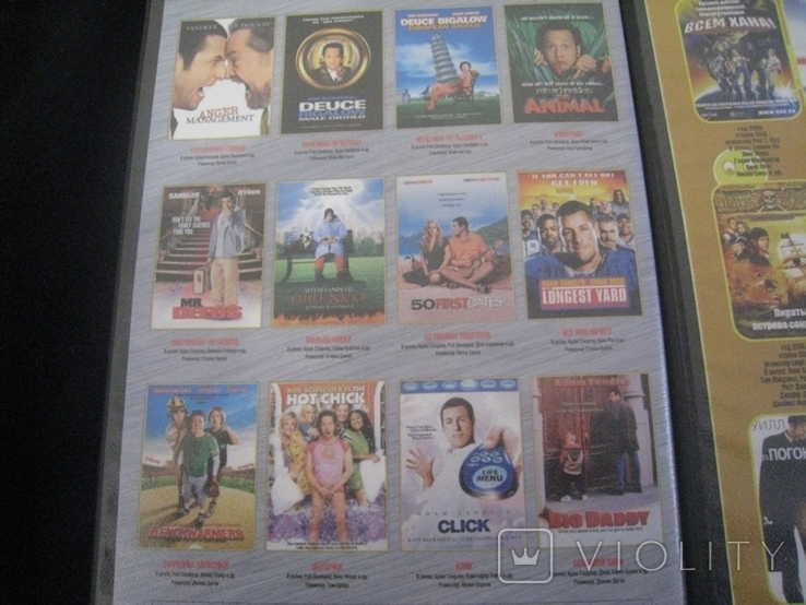 Видео касеты 6 штук + бонус три диска, фото №9