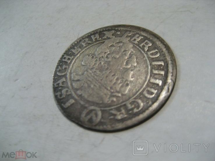 Священная Римская империя Австрия 3 крейцера 1624 г Фердинанд II, фото №3