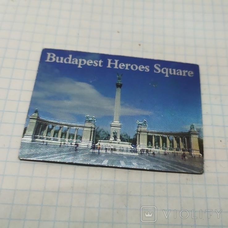 Магнит Венгрия. Будапешт. 70х50мм, фото №2