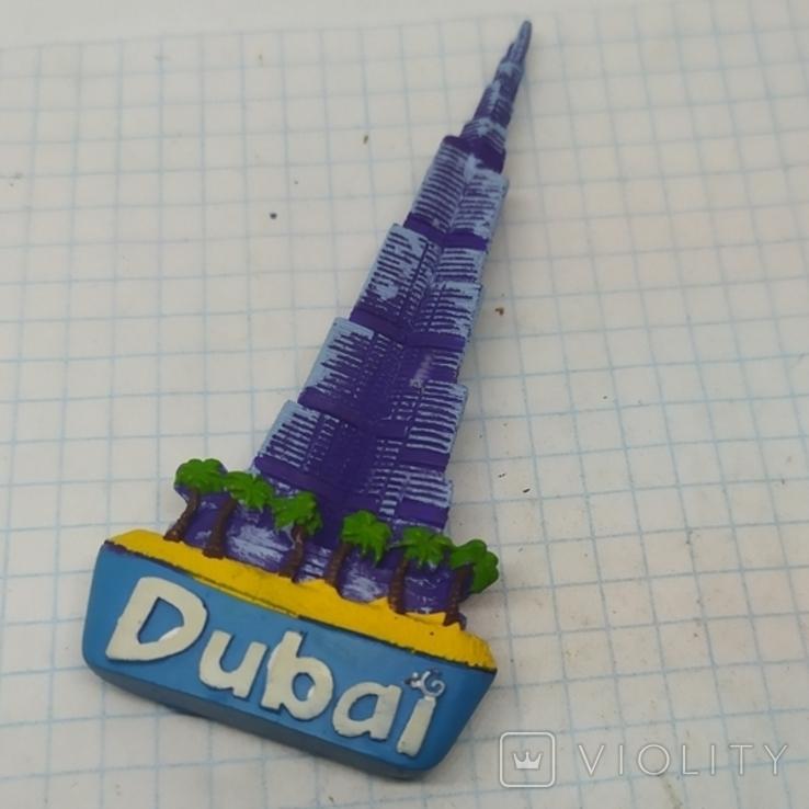 Магнит ОАЭ, Дубаи. Высота 92мм, фото №2