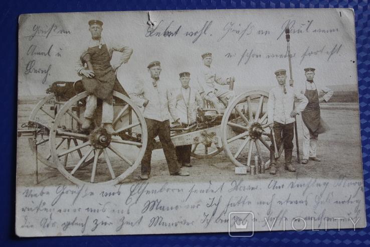 Первая мировая. Германия. фото открытка. полевая почта, фото №2