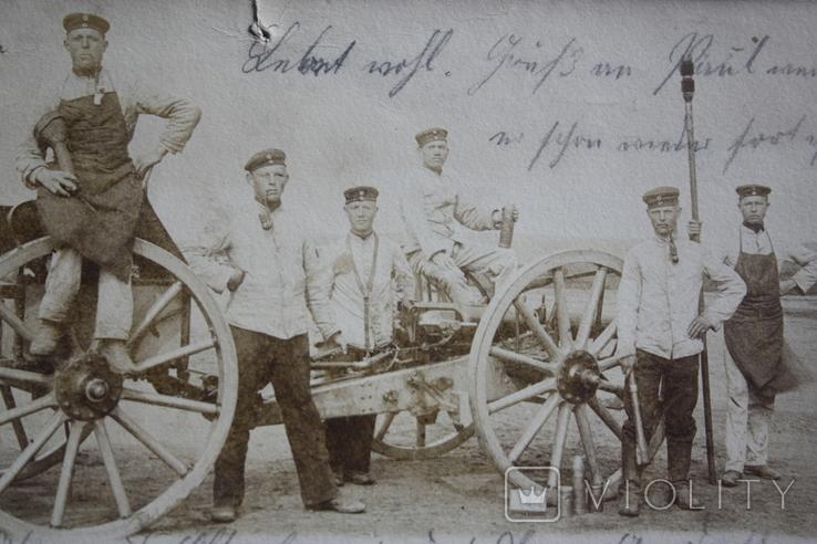 Первая мировая. Германия. фото открытка. полевая почта, фото №3
