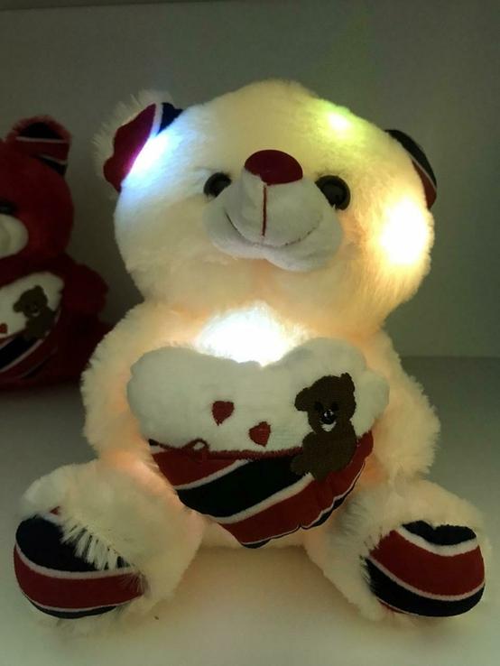 Мягкая игрушка светящийся мишка Тедди., фото №2