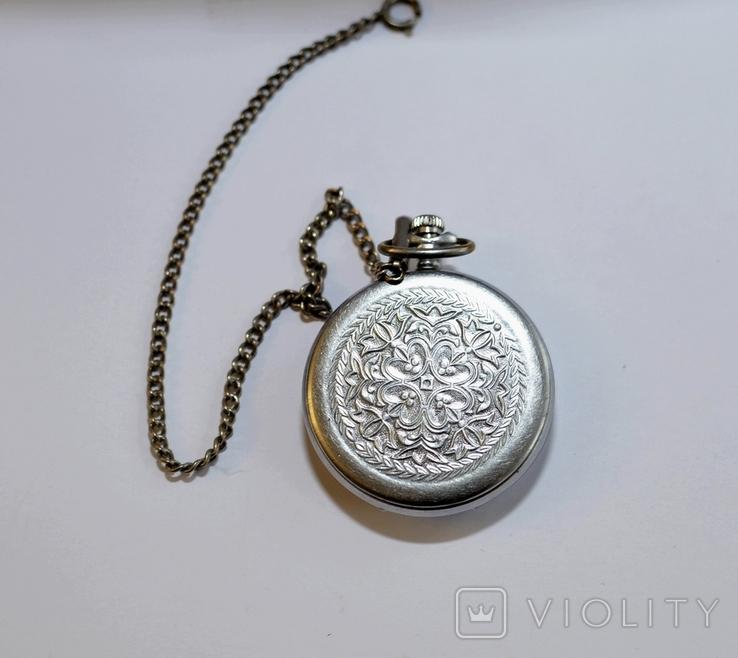 Кишеньковий годинник Молния з цепочкою, фото №6