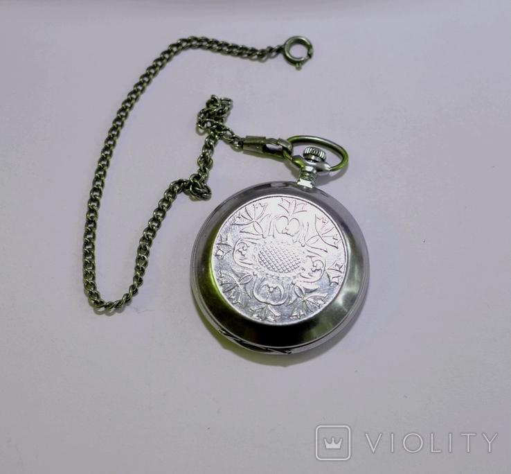 Кишеньковий годинник Молния з цепочкою, фото №7