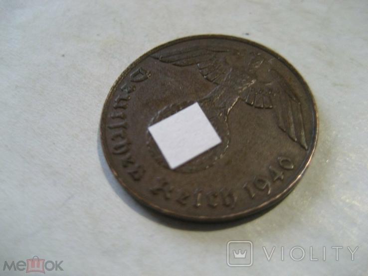 Германия Третий Рейх 1 пфенниг 1940 J, фото №5