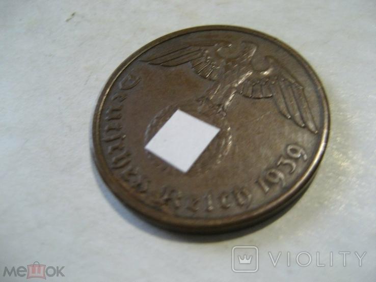 Германия Третий Рейх 2 пфеннига 1939 А, фото №5