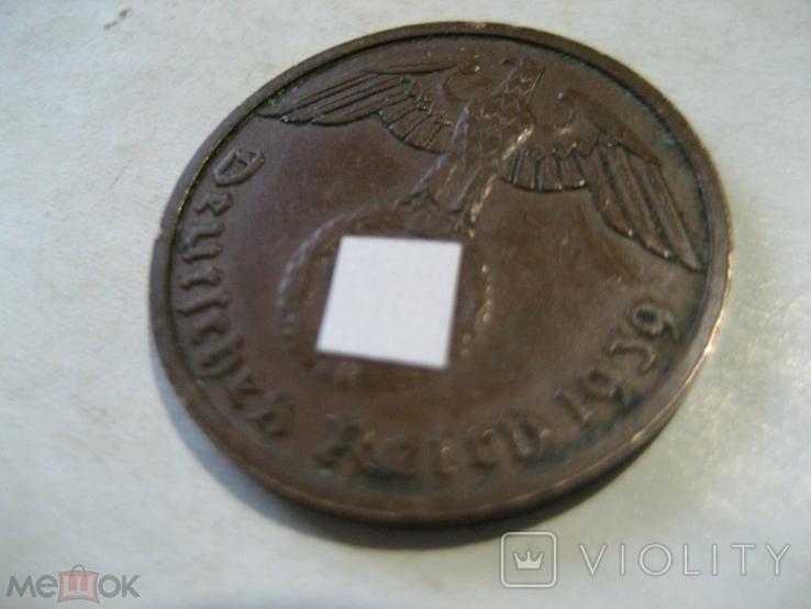 Германия Третий Рейх 2 пфеннига 1939 В, фото №5