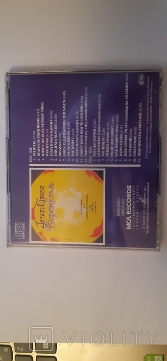 2xCD Jesus Christ Superstar - 1995, фото №4