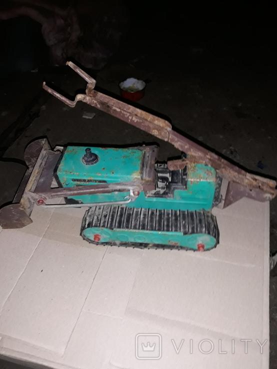 Эскаватор железный, фото №3