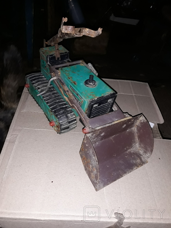 Эскаватор железный, фото №2