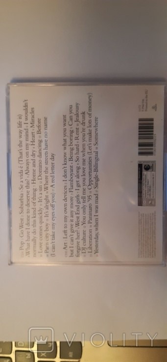 МАГАЗИН МАЛЬЧИКИ Поп-арт Greatest Hits ФРАНЦИЯ CD, фото №5