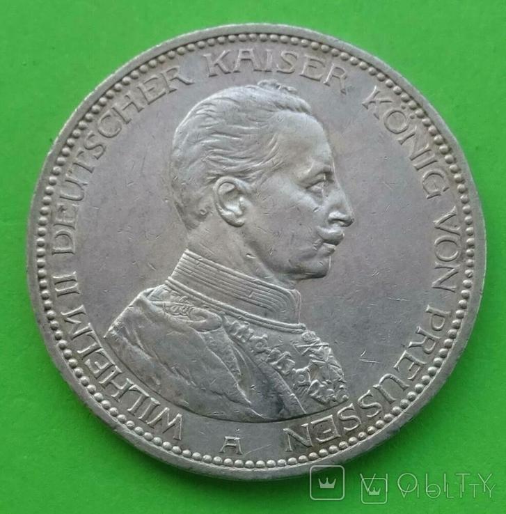 5 марок, Пруссия, 1914 год., фото №2