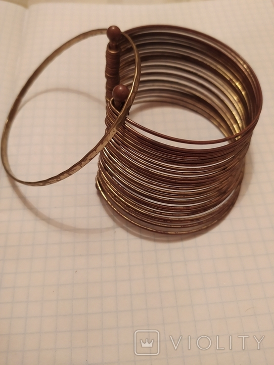 Два винтажных браслета, фото №3