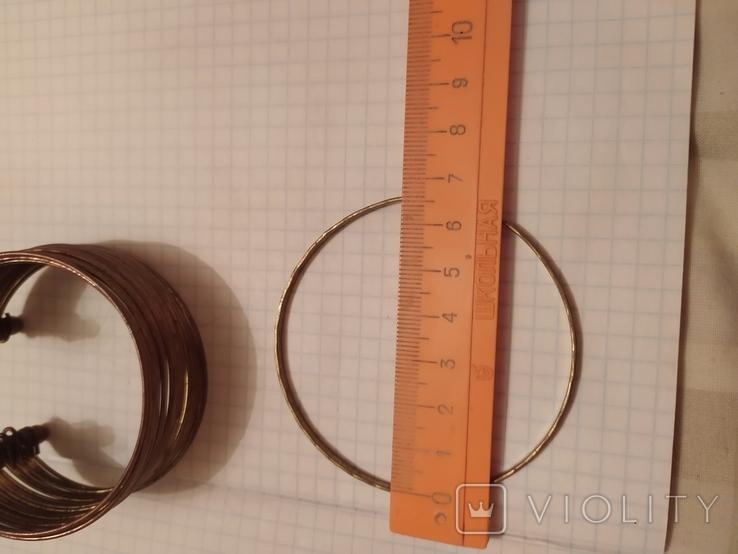 Два винтажных браслета, фото №9