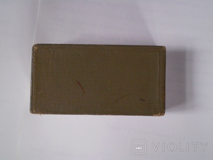 Кулон серебро 875 проба аметист на цепочке в родной коробочке, фото №13