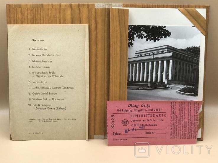 """Фотографии Туристический комплект """"Dessau"""" 1969 г., фото №2"""