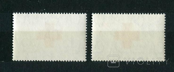 Британские колонии, Бермуды. 100 лет Красного креста. MNH 1963 г., фото №3