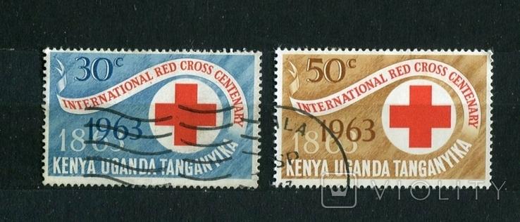 К.У.Т. 100 лет красного креста. 1963 г., фото №2