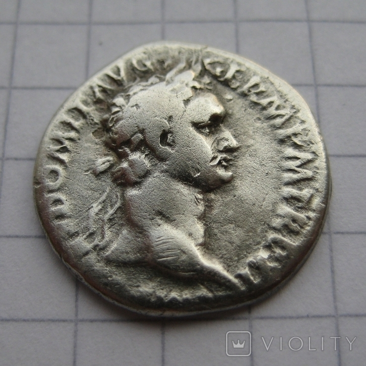 Денарий, Домициан, фото №2