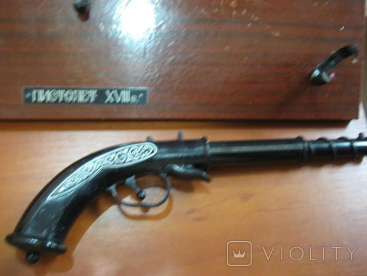 Пистолет кремниевый   . 18 век .Сувенир ., фото №6